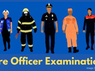 2020 Fire Officer Exam