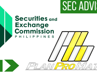 PlanProMatrix SEC Advisory