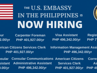 Jobs in US Embassy