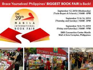 39th MIBF Schedule