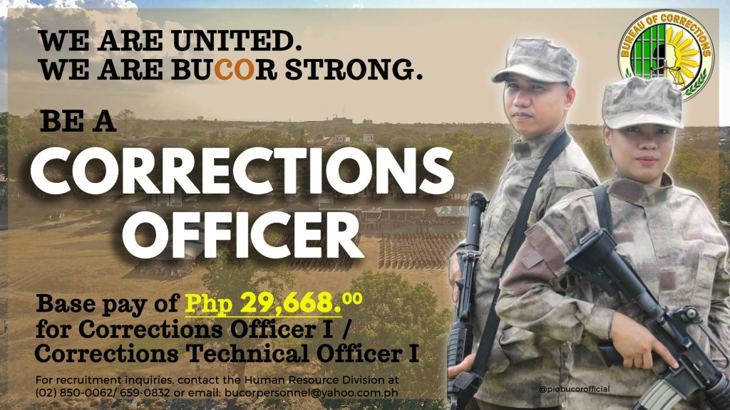 Corrections Officers Salary