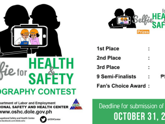 Join the Selfie for Health and Safety Contest