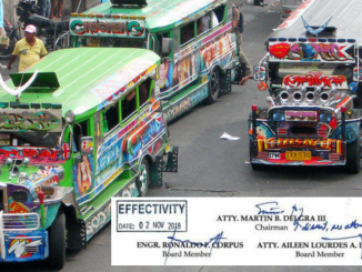10 Pesos Jeepney Minimum Fare Effectivity