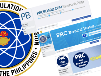 PRC Unauthorized Websites and Facebook Pages