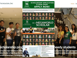 Megaworld Scholarship 2019