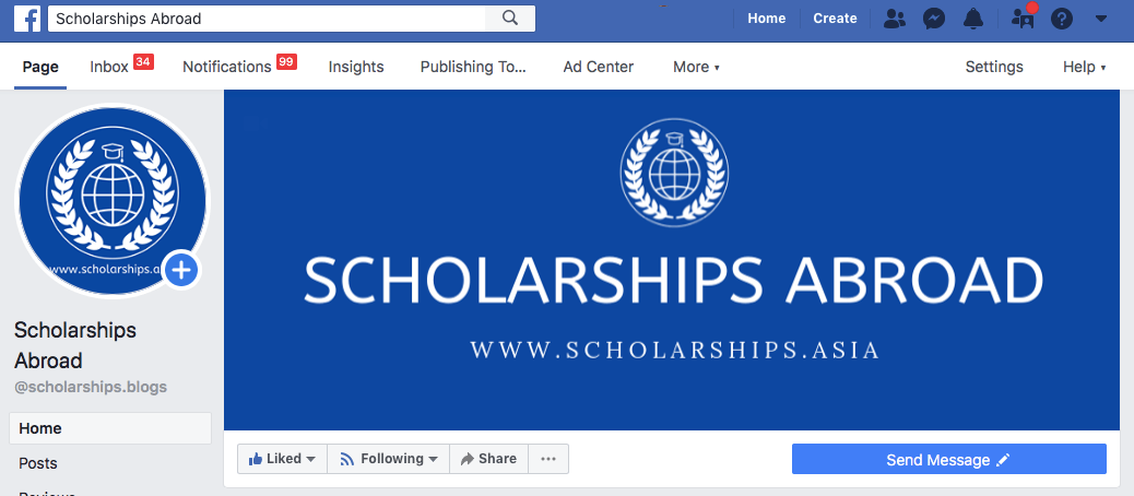 Scholarships Abroad FB Page