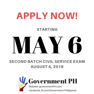 Civil Service Exam 2019 August