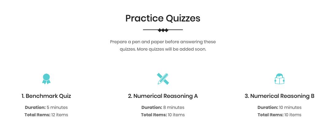 CSC Sample Quiz