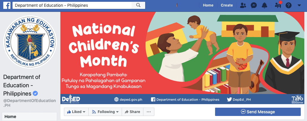 DepEd Facebook Page
