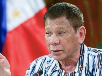 Quarantine Status President Duterte