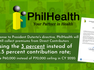 PhilHealth Contribution Table for 2021 Suspension