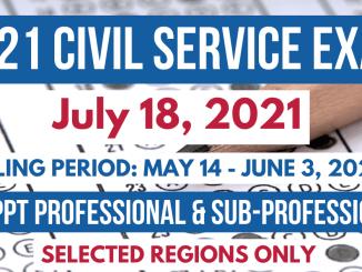 2021 Civil Service Exam