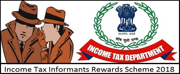 Income Tax Informants Rewards Scheme