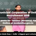 Municipal Corporation of Delhi