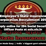 Employee's State Insurance Corporation