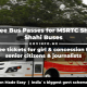 Free MSRTC ShivShahi bus pass for girls, senior citizens & accredited journalists