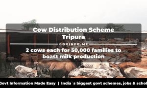 Cow Distribution Scheme Tripura
