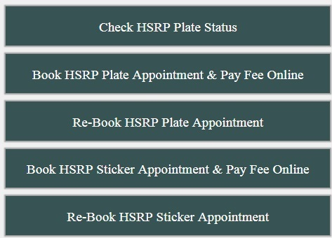 How to apply for HSRP number plate online in Delhi?