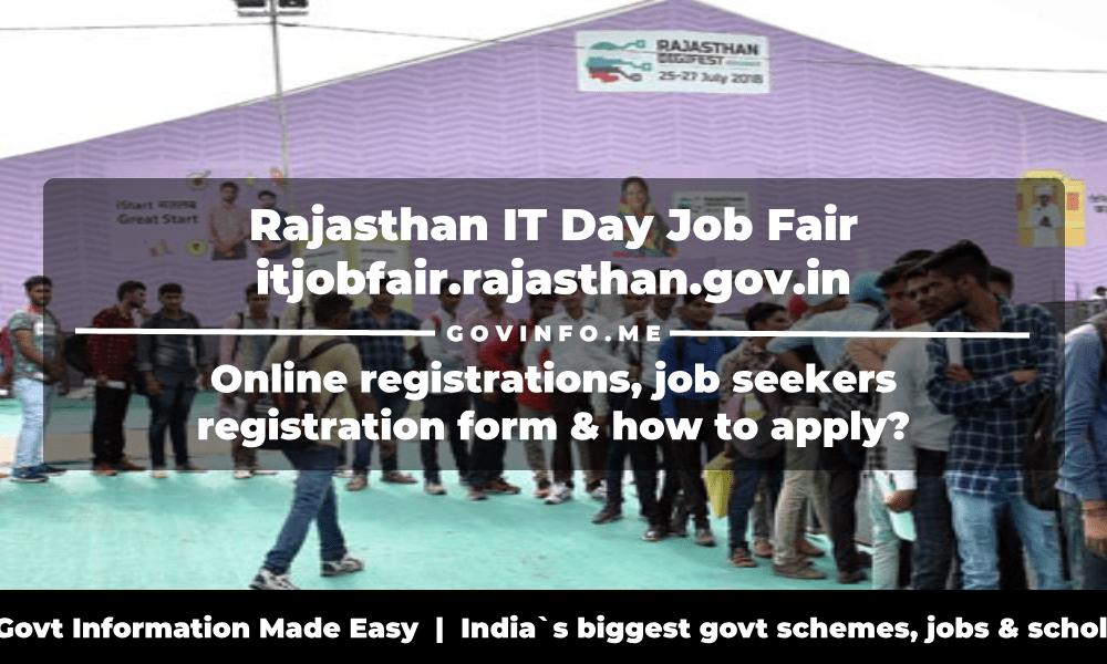 Rajasthan IT Day Job Fair
