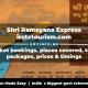 Shri Ramayana Express Ticket bookings