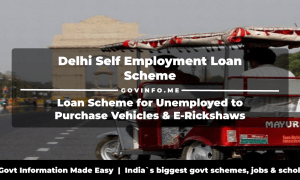 Delhi Self Employment Loan Scheme for Unemployed