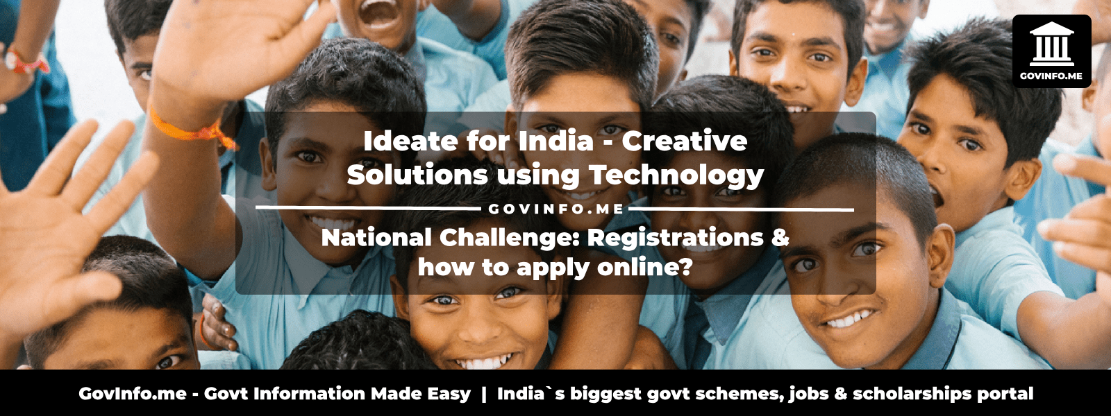 ideateforindia negd in - Ideate for India National Challenge