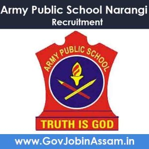 Army Public School Narangi Recruitment 2021