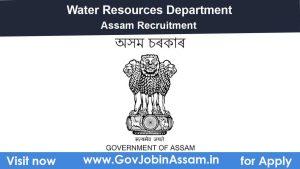 Water Resources Department Assam Recruitment 2020