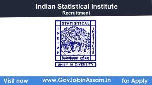 Indian Statistical Institute Tezpur Recruitment 2021