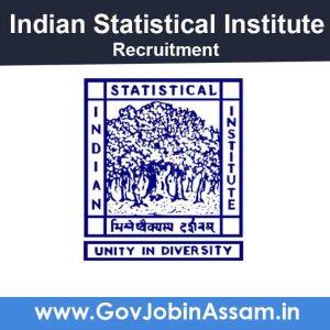 Indian Statistical Institute (ISI) Recruitment 2021