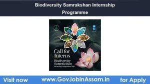 Biodiversity Samrakshan Internship Programme