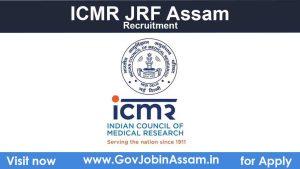 ICMR JRF Recruitment 2021