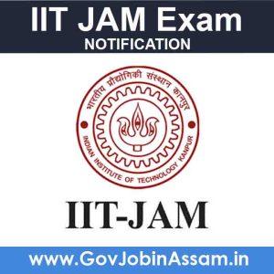 IIT JAM Exam Notification
