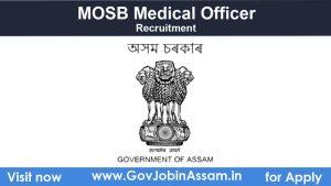 MOSB Medical Officer Recruitment