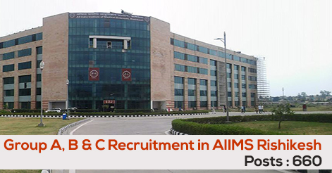 Multiple Vacancy in AIIMS Rishikesh