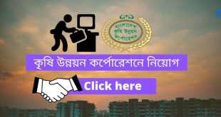 BADC New BD Govt Job Circular