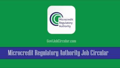MRA job circular 2021