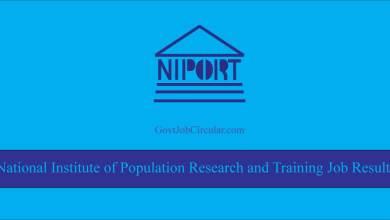 NIPORT Job Result