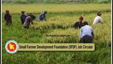 SFDF Job Circular