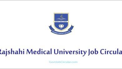 RMU Job Circular