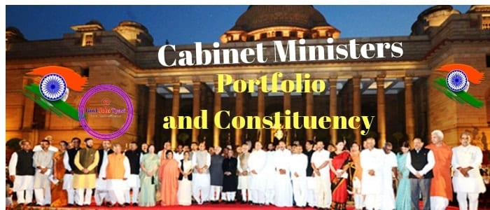 Cabinet Ministers Portfolio and Constituency,list of cabinet ministers,Ministers and their portfolios