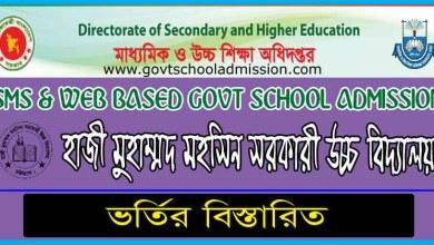 Hazi Mohammad Mohsin Govt High School