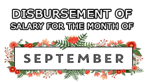 Disbursement-of-Salary-for-the-month-of-September-2017