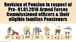 Revision of pension