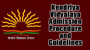 KV Admission Procedure