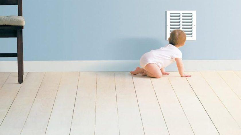 Clean HVAC Air Filter