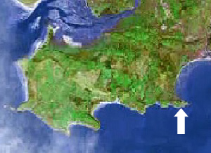 Location of Limeslade at Mumbles