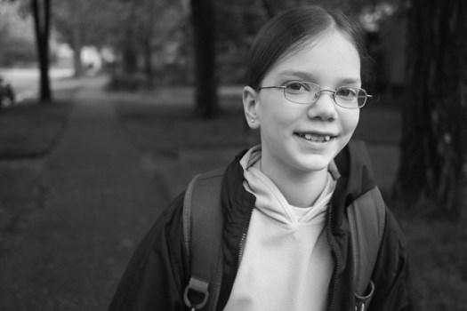 Erin at 12