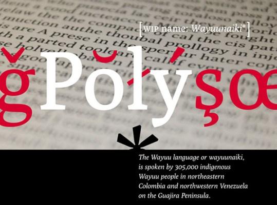 Poly – free web font