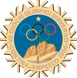 1956 コルチナ五輪 ロゴ